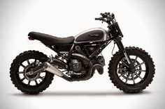 The Ducati Scrambler Dirt Tracker is an awesome machine