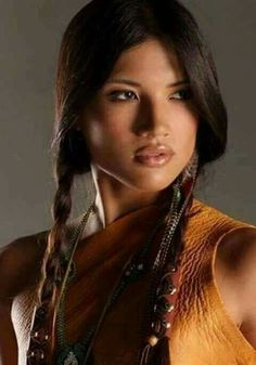 True Natural Native American Beauty