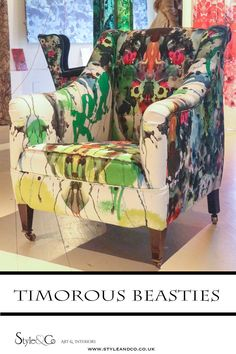 London Design Week at Chelsea Harbour – Style&Co Funky Furniture, Classic Furniture, Furniture Ideas, Upcycled Furniture, Painted Furniture, Interior Blogs, Interior Design, London Design Week, Timorous Beasties