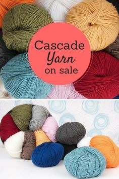 Whether you're knitting yarn for a scarf, sweater or any other knitting project -- Cascade yarn always does the trick! Shop Craftsy's selection of beautiful, high-quality cascade yarn and be on your way to better knitting projects! Visit Craftsy's site today to get the latest deals on this beloved brand!