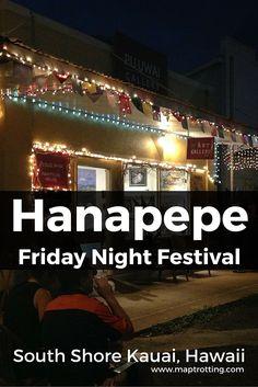 Friday Night Festival in Hanapepe, Kauai, Hawaii