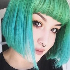 Get this with a mixture of Green: http://www.dollskill.com/arctic-fox-neverland-hair-dye.html & Blue: http://www.dollskill.com/arctic-fox-periwinkle-hair-dye.html Arctic Fox hair dye!!