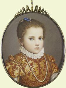 Portrait of a young girl - Giovanni Battista Moroni
