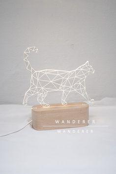 Constellation Cat Night Lamp , Apartment - Wanderer Wanderer, Wanderer Wanderer  - 1