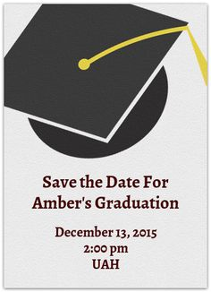 13 best graduation save the date images on pinterest grad parties