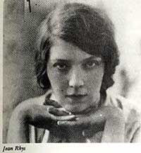 Jean Rhys, mistress of Ford Madox Ford, and author of The Wide Sargasso Sea (prequel to Jane Eyre)