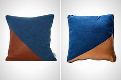 Make These Chic $180 Pillows for Under $20 (Bonus: They're No-Sew!) via Brit + Co.