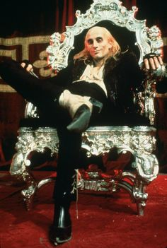 """Still of Richard O'Brien in """"The Rocky Horror Picture Show"""", 1975.  Another pic of Riff Raff, he's my favourite character. Absolutely LOVE him!!"""