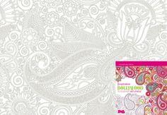 """Coloriage """"Inspiration Bollywood"""" Coloriage extrait de l'ouvrage Coloriage """"Inspiration Bollywood"""" paru aux Editions Dessain et Tolra. Téléchargez ce coloriage gratuit en cliquant ici :coloriage """"Inspiration Bollywood""""."""