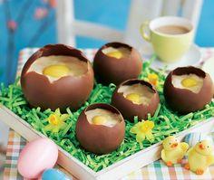 The 16 best asda easter crafting images on pinterest asda chocolate eggshells with orange jelly mousse asda recipesegg recipeseaster negle Images