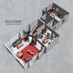 Possible layout of 221B Baker Street