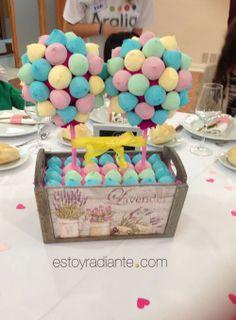Detalles para bodas - chuches para mesa de niños