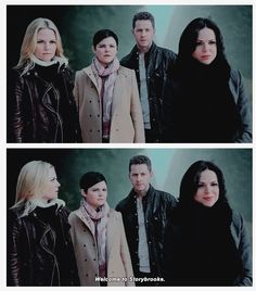 """""""Welcome to Storybrooke"""" #OnceUponATime. Snow and David in this episode... Just wow. They look evil themselves now."""