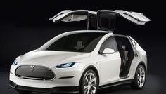 Découvrez les premières images du SUV Tesla Model X, le futur crossover électrique de la marque américaine qui vient élargir sa gamme.