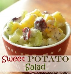 Scrumptious and Sweet Potato Salad | Healthy Ideas for Kids