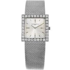 Vacheron Constantin vintage 18k gold and diamond watch