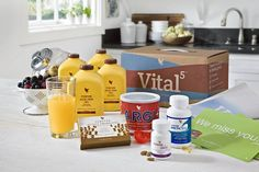 Vital 5 - the 5 key supplements made from 100% natural ingredients to maintain optimum health and strengthen the immune system.