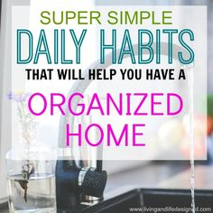 Daily+Habits+for+an+Organized+Home