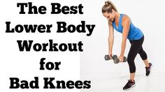 The Best Lower Body Exercises for Bad Knees | Full 15 Minute Hips, Butt and Thighs Workout