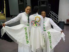 Praise and worship garment