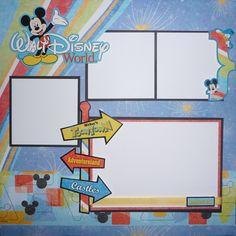 magic+kingdom+scrapbook+layouts   HOTP – Disney Magic Kingdom Finished in a Flash!™