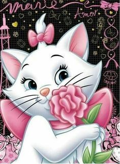 You too can be an artist when you paint with Diamonds! Every kit gives you a chance to create a work of art you can be proud of. This diamond painting kit Diamond Drawing, 5d Diamond Painting, Diamond Art, Crystal Diamond, The Aristocats, Marie Cat, Bear Cartoon, Cross Paintings, Pretty Wallpapers