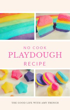 This no cook playdough recipe will give you perfect soft playdough everytime and if stored correctly can easily last up to 6-8 months.