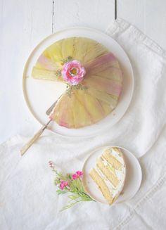 Kuppel /Rhabarber Kuchen |