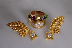 22k Wing Diamond Drop Earrings Antique Chinese Indian : Gem Gardener | Ruby Lane Chinese Takeaway, Diamond Drop Earrings, Antique Earrings, Ruby Lane, Wings, Gems, Indian, Antiques, Jewelry