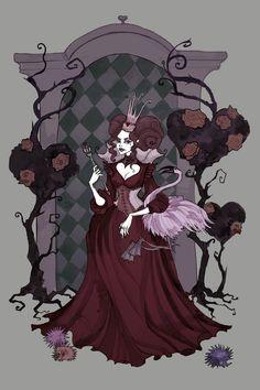 The Queen of Hearts by IrenHorrors.deviantart.com on @deviantART