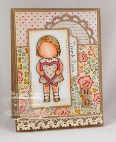 Think Pink   Paper Cuts - so soft and pretty!