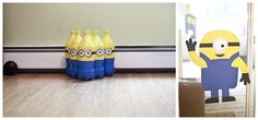 Despicable Me Theme: The Musings of an Intentional Mommy: awesome despicable me birthday party- Minion bowling