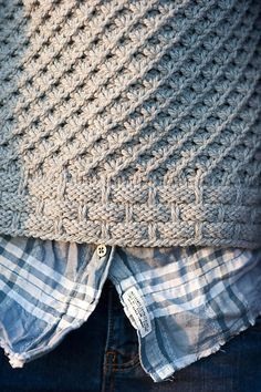 Knitting Patterns Techniques Ravelry: Tundra pattern by Kristen TenDykeAlso, see the matching fingerless mitts, Tundra Mitts.So ein schöner Stich!Chinti And Parker CashmereLike the unusual edging. Stitch Patterns, Knitting Patterns, Sewing Patterns, Crochet Patterns, Afghan Patterns, Ravelry, Knitting Stitches, Free Knitting, Knitting Sweaters