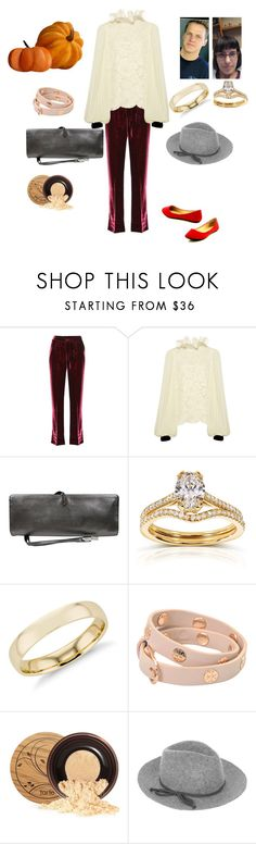 """""""Good morning stylist"""" by joydschmidt1 ❤ liked on Polyvore featuring F.R.S For Restless Sleepers, Philosophy di Lorenzo Serafini, Yves Saint Laurent, Annello, Blue Nile, Tory Burch, tarte and Accessorize"""