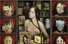 Juxtapoz Magazine - The Dark, Iconic Anatomy of Dino Valls
