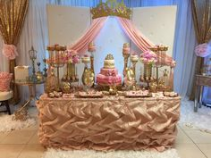 Princess Baby Shower Baby Shower Party Ideas | Photo 1 of 39 | Catch My Party