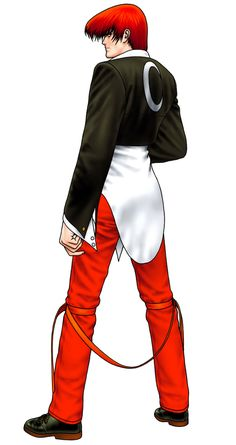 Iori Yagami from The King of Fighters '98: Ultimate Match