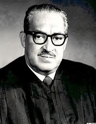 First African American Supreme Court Justice and Howard University graduate (LLB, 1993) Thurgood Marshall received the L.L.D at the 1954 Howard University Commencement.