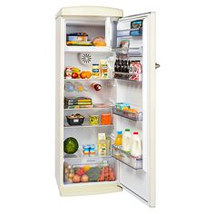 Buy Britannia Breeze Retro Tall Fridge with Freezer Compartment, A+ Energy Rating, 60cm Wide Online at johnlewis.com