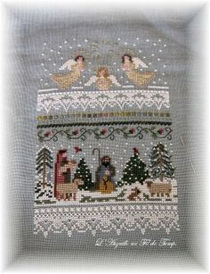 The Victoria Sampler Cross Stitch Christmas Ornaments, Xmas Cross Stitch, Cross Stitch Samplers, Cross Stitch Flowers, Cross Stitching, Cross Stitch Embroidery, Applique Quilt Patterns, Cross Stitch Patterns, Cross Stitch Finishing