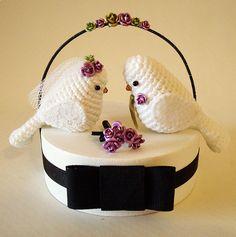 Crochet Wedding Pillow Patterns