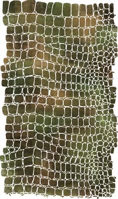Large Crocodile Skin Wall Stencil