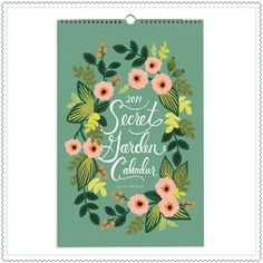 "Calendrier 2014 ""Botanical"""