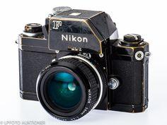 Nikon F Photomic FTN No.6973372 Svartlackerad, 24x36mm, med Nikkor 2.8/28mm No.451275 (B, for F/AI .