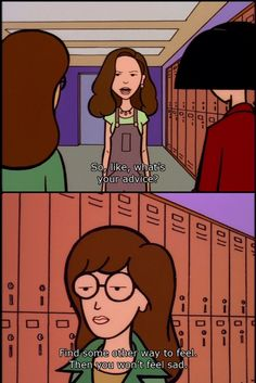 My advice on feelings. Daria.