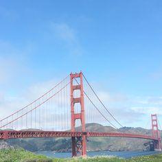 THE PERFECT VIEW #GoldenGate bridge ❤️ #California