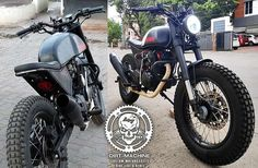 Modified KGF Bike in India by Dirt Machines Customs | Mototech India Enfield Himalayan, Most Popular Movies, Yamaha Fz, Best Mods, Steel Rims, Motorcycle News, Royal Enfield, Paint Schemes, Custom Motorcycles