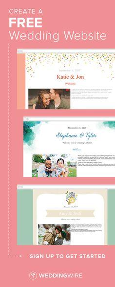 102 best free wedding website images on pinterest in 2018 free