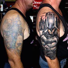 Crappy Batman Tattoo Gets A Major Upgrade