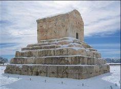 Pasargad ,  Cyrus the great tomb Shiraz , Iran